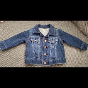 6-12 month Gap Denim Jacket